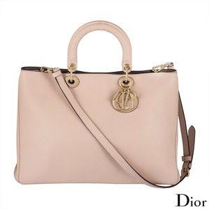 Christian Dior Diorissimo Large Tote Bag Full Set